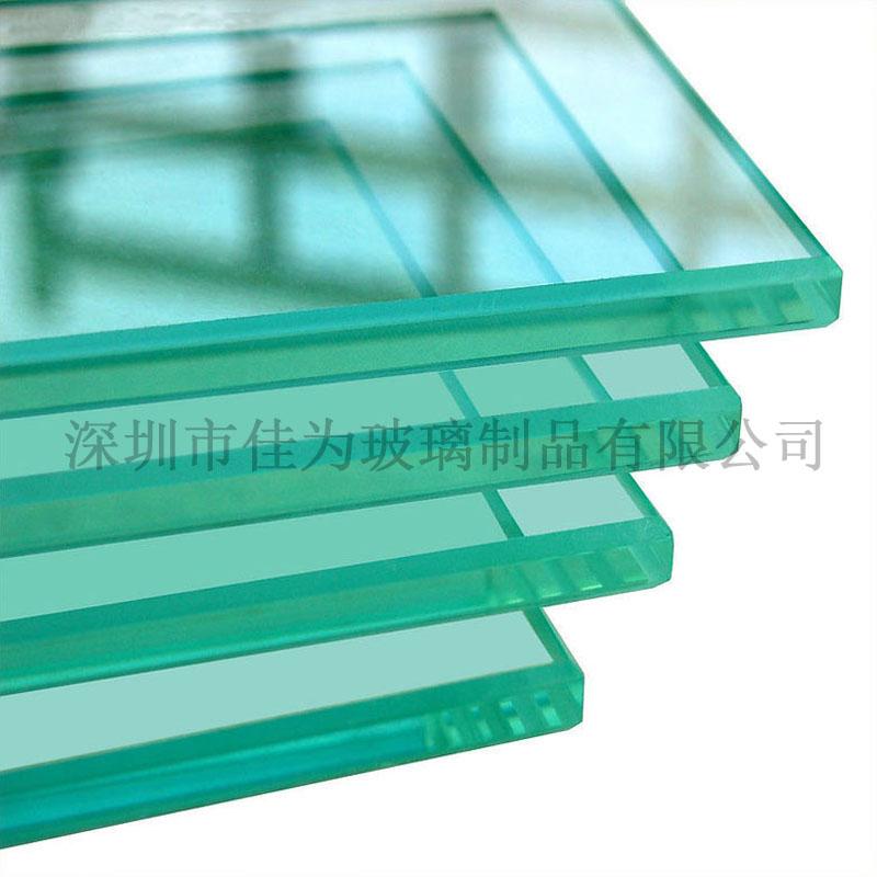 廠家直銷有色玻璃深加工 茶色 藍色 綠色